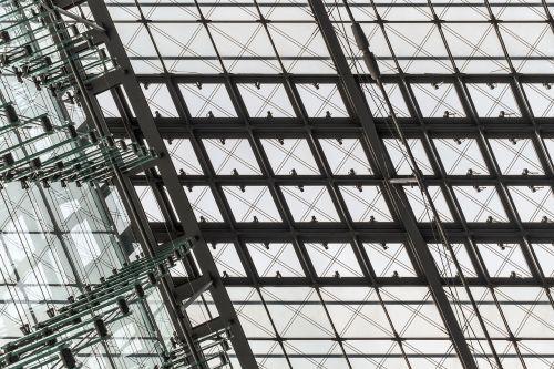 glass windows ceiling