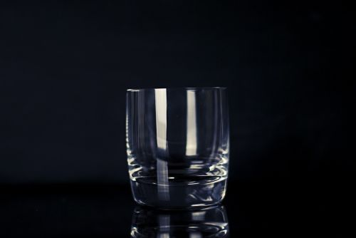glass empty drink