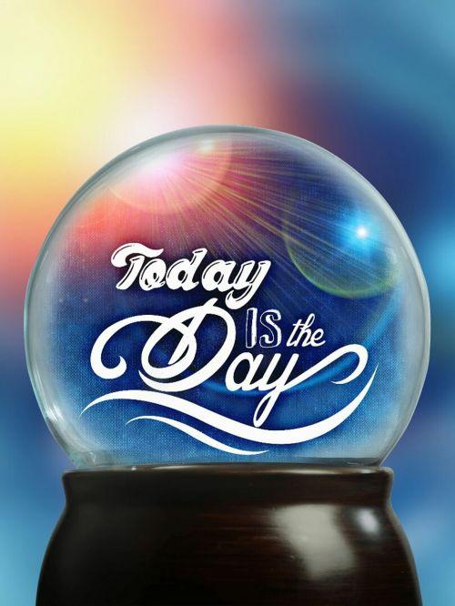 glass ball ball beautiful day