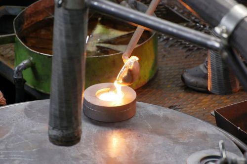 glass blower glass blowing glass