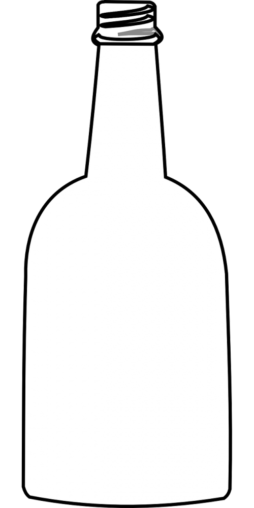 glass bottle bottle empty