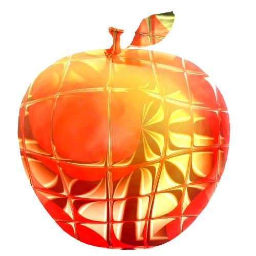 Glass Effect Gala Apple