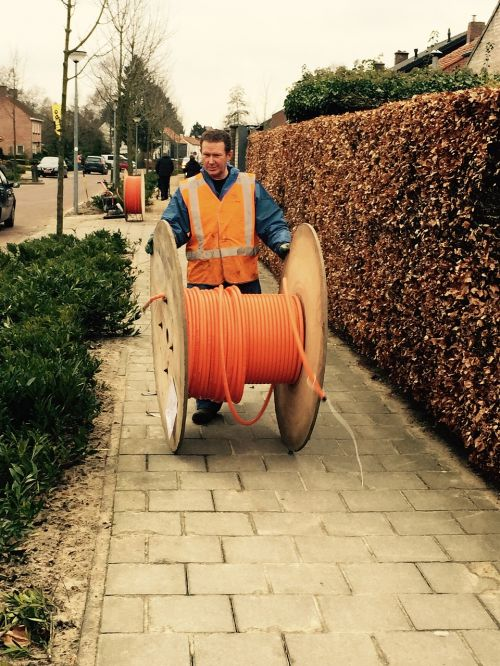 glass fiber broadband cable