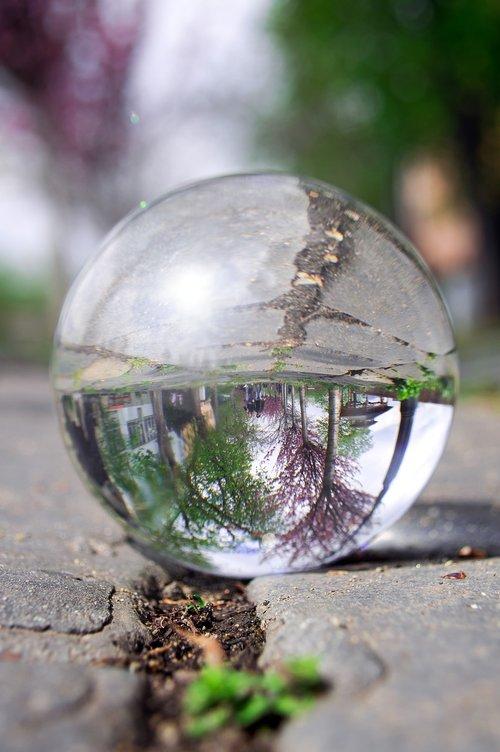 glass globe  fotógömb  buda castle