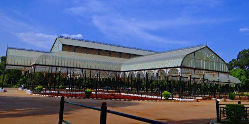 glass house botanical garden lal bagh