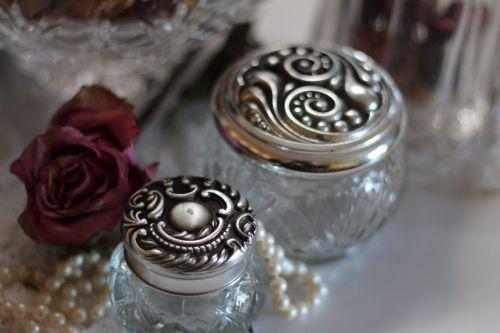 glass jars jars jewelry