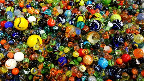 glass marbles  marbles  colorful