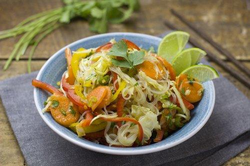 glass noodle salad  salad  noodles