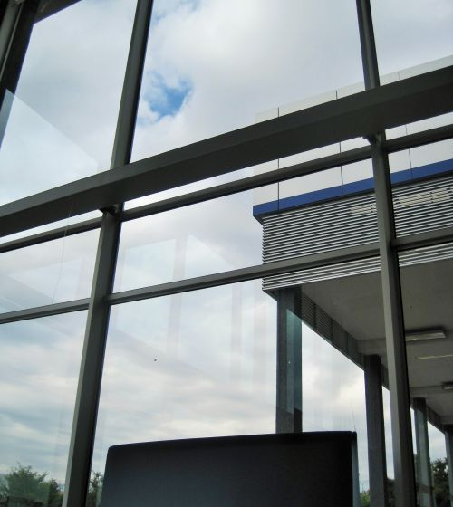 Glass Panes Of Building