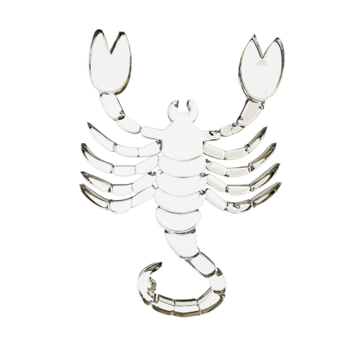 glass signs of the zodiac scorpion horoscope