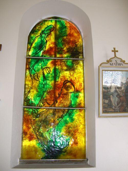 glass window artist bernard chardon cress
