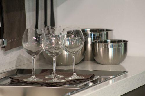 glasses tableware kitchen