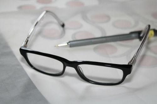 glasses reading glasses study