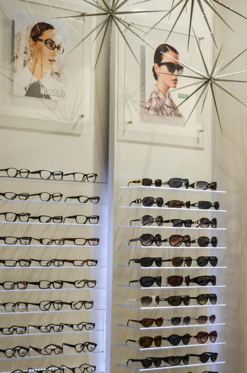 glasses optician exhibition