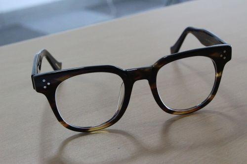 glasses spectacles desk