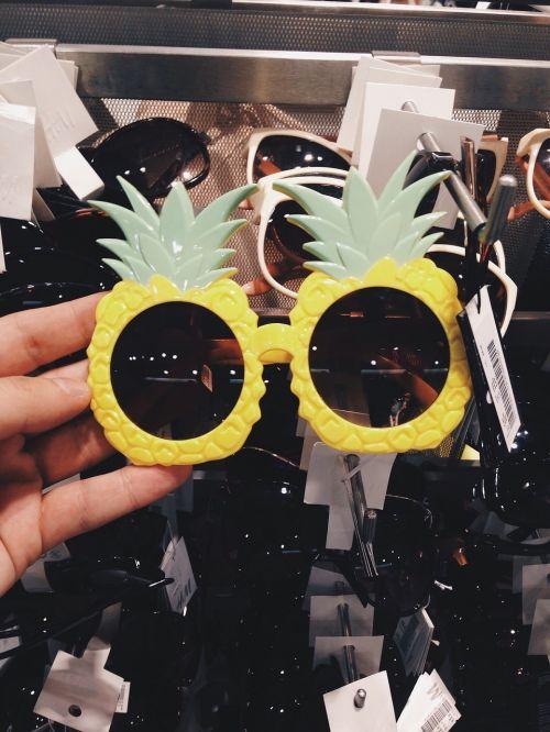 glasses eyeglasses pineapple