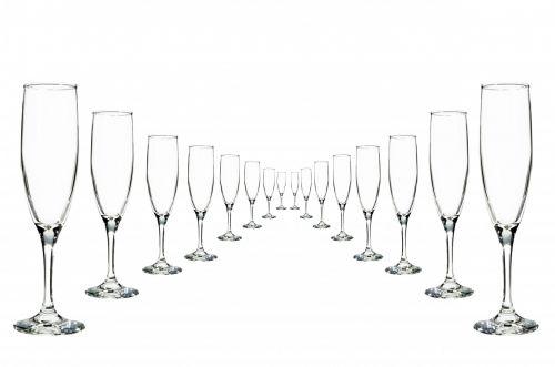 Glasses Champagne