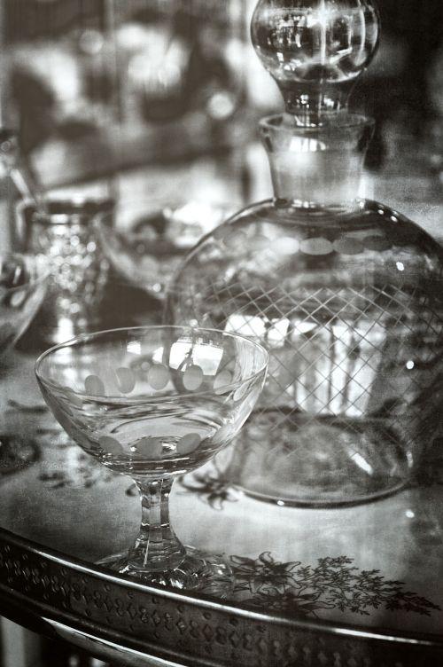 glassware kitchenware and tableware reflection