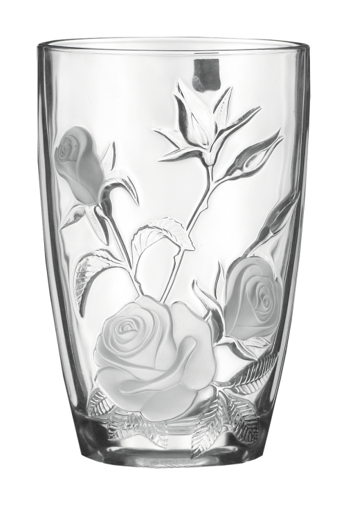 glassware for flowers decoration