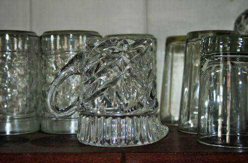 Glassware In Pub