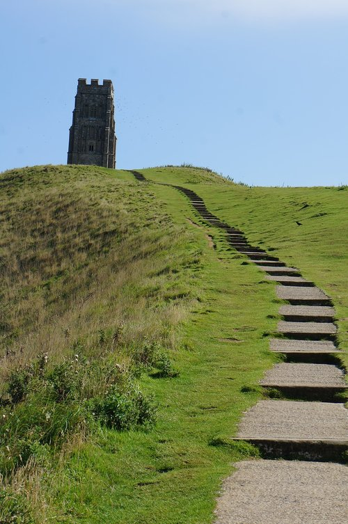 glastonbury  tor  devon