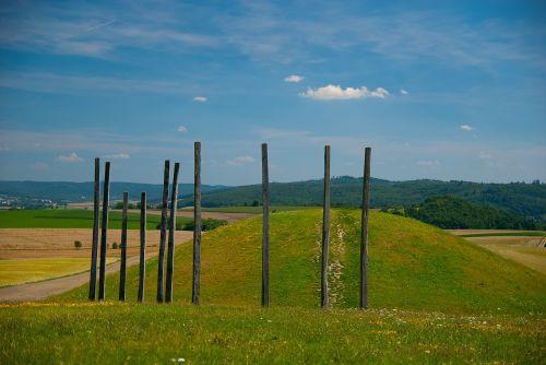 glauberg celts burial mounds
