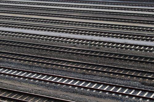 gleise train tracks railway