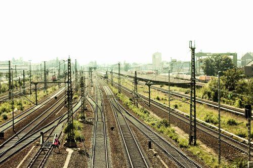 gleise berlin train