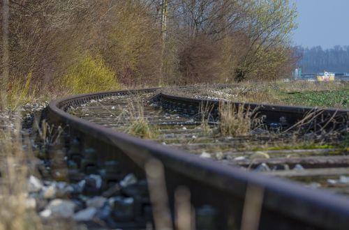 gleise train tracks track bed