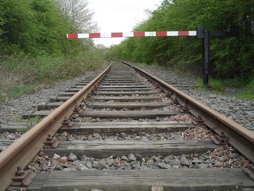 gleise barriers seemed