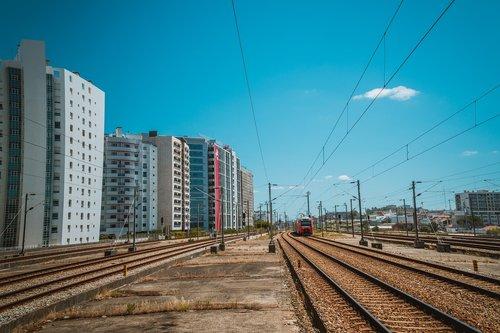 gleise  rails  train