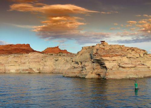 glen canyon utah landscape