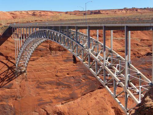 glen canyon usa bridge