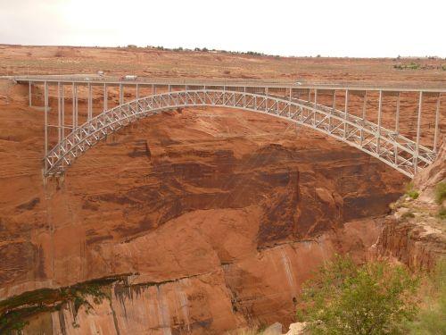 glen canyon bridge bridge steel arch bridge