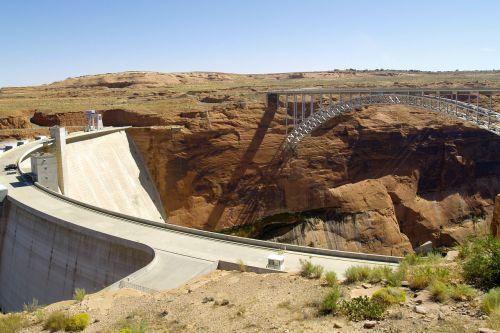 glen canyon dam power plant colorado river