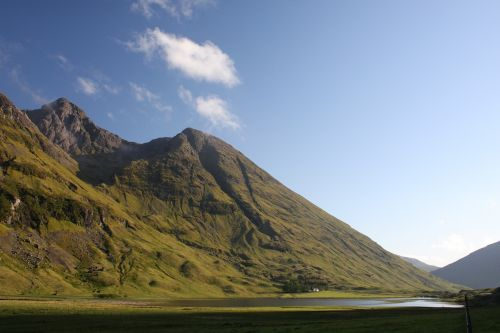 glen coe lochan valley