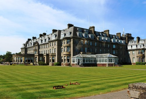 gleneagles hotel  scotland  hotel