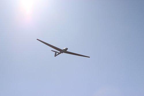 glider  dunstable downs  flight