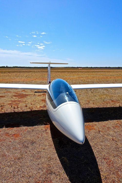 glider aviation cabin