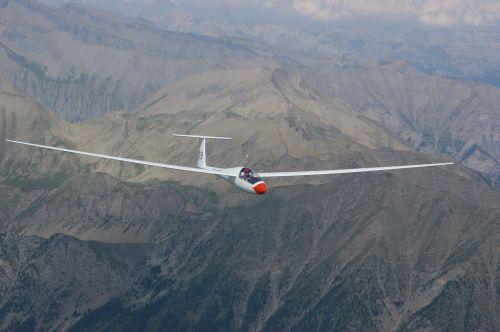 glider pilot aircraft sport aircraft