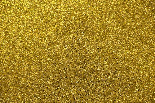 glitter gold metallic
