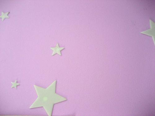 Glo Stars Pink