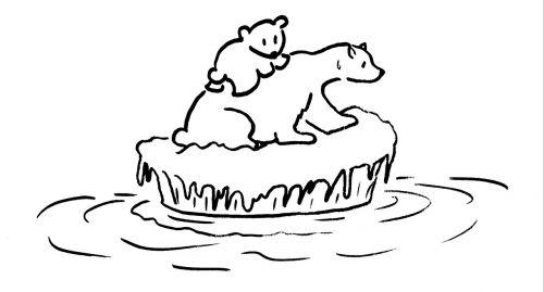 global warming polar bear environment