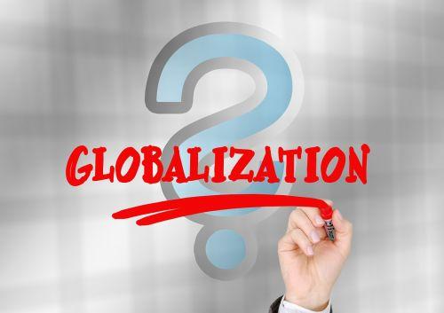 globalization question mark worldwide