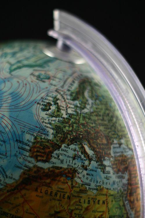 globe europe france