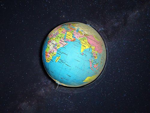 globe earth planet