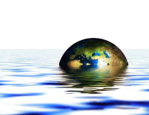globe earth water