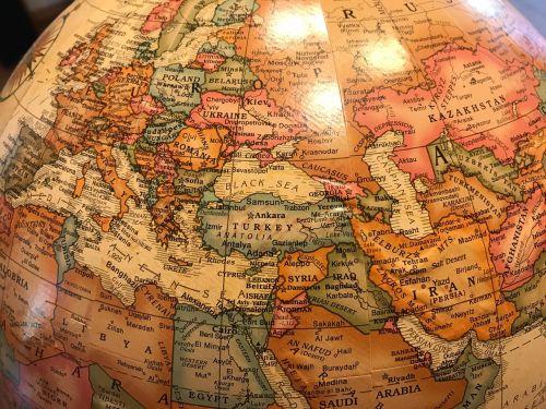 globe world europe