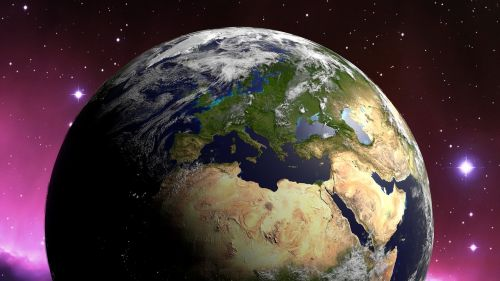 globe land earth