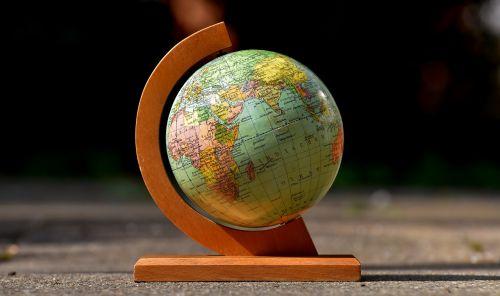 globe old earth